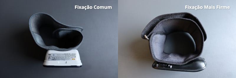 Comparação de Fixação dos Medidores de Pulso