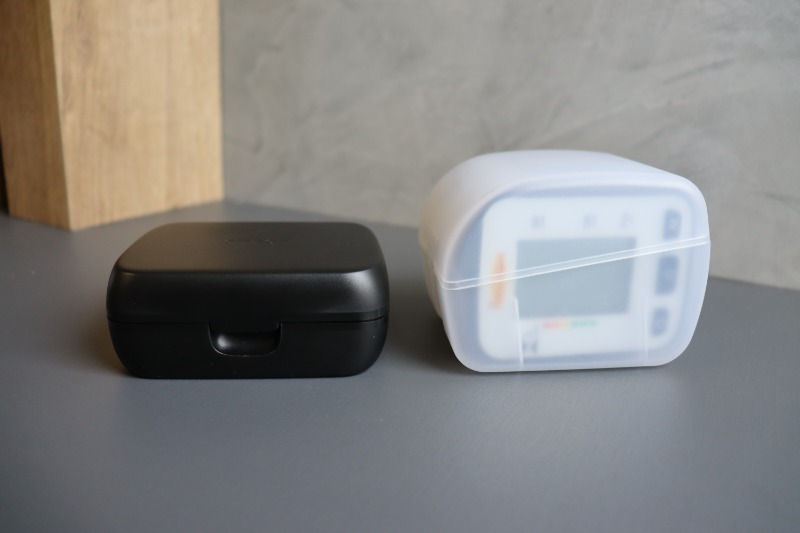 Comparação das Caixas dos Medidores de Pulso