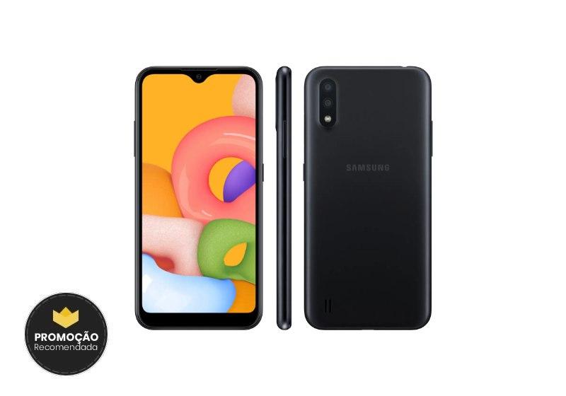 Samsung Galaxy A01 em Promoção
